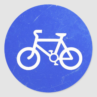 Bicycle Traffic Sign Stickers