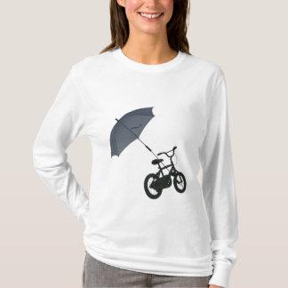 bicycle + umbrella T-Shirt