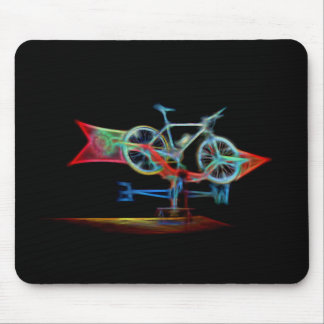 Bicycle Weathervane Mouse Pad