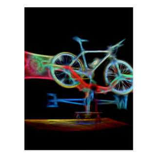 Bicycle Weathervane Postcard