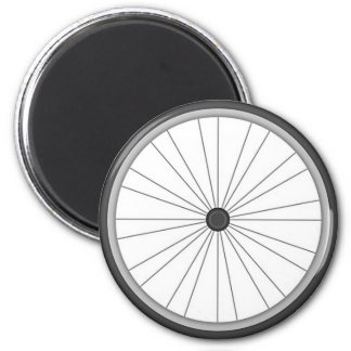 Bicycle Wheel 2 Inch Round Magnet