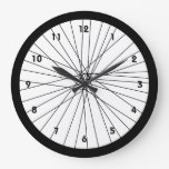 Bicycle Wheel Clock With Numbers at Zazzle