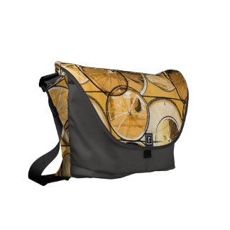 Bicycle Wheels Messenger Bag