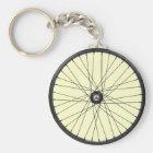 bicycle wire wheel keychain
