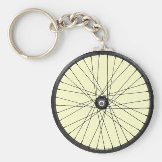 bicycle wire wheel keychain