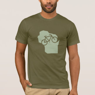 Bicycle Wisconsin t-shirt