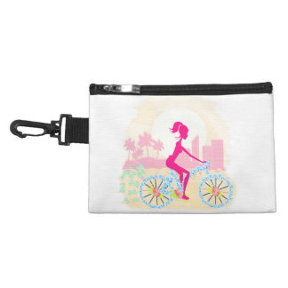 Bicycle with city Bagettes Bag Accessory Bag