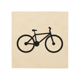 Bicycle Wood Wall Decor