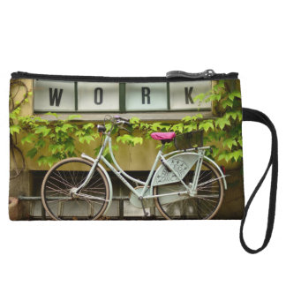 bicycle wristlet purse