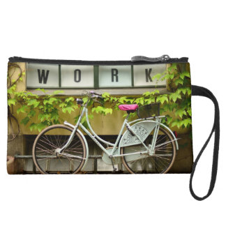 bicycle wristlet purses