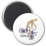BicycleBounce081510 Fridge Magnet
