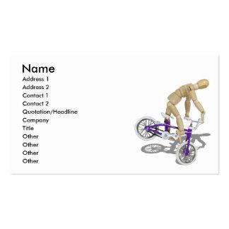 BicycleBounce081510 nombre dirección 1 direcció Tarjeta De Negocio
