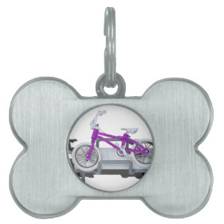 BicycleLayingOnGurney092715.png Placa De Mascota