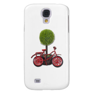 BicycleLeaningPottedTree121611 Samsung Galaxy S4 Case