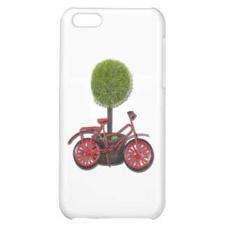 BicycleLeaningPottedTree121611 Case For iPhone 5C