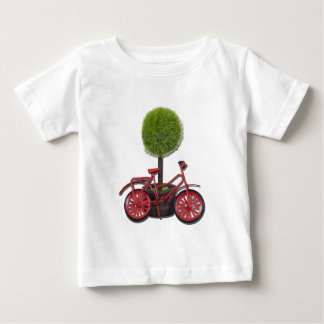 BicycleLeaningPottedTree121611 T-shirt
