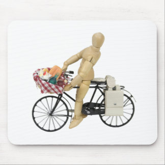 BicyclePicnicBasket120509 copy Mouse Pad