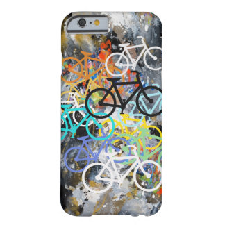 Bicycles Abstract Barely There iPhone 6 Case