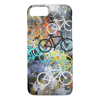 Bicycles Abstract iPhone 7 Case