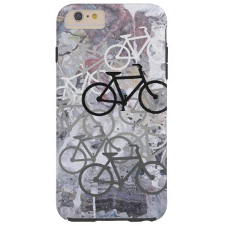 Bicycles Abstract Tough iPhone 6 Plus Case