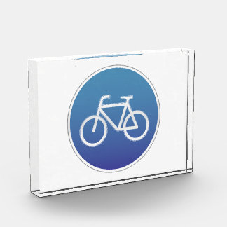 Bicycles allowed road sign award
