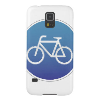 Bicycles allowed road sign galaxy s5 case
