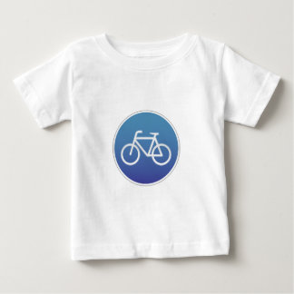 Bicycles allowed road sign t shirt