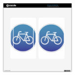 Bicycles allowed sign kindle fire decals