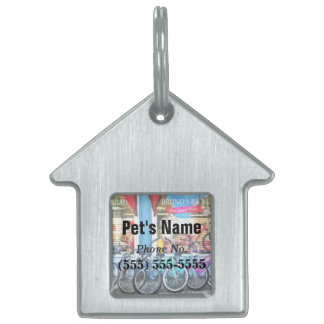 Bicycles and Chocolate Pet ID Tag