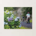 Bicycles and hydrangeas puzzles