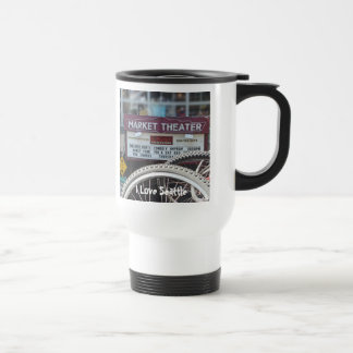 Bicycles at the Theater 15 Oz Stainless Steel Travel Mug