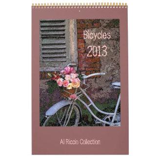Bicycles Wall Calendar