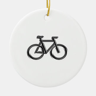 Bicycles Ceramic Ornament