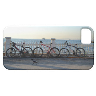 Bicycles & Crow iPhone 5 Cover