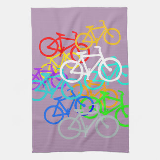 Bicycles Hand Towel