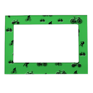 Bicycles Magnetic Photo Frame
