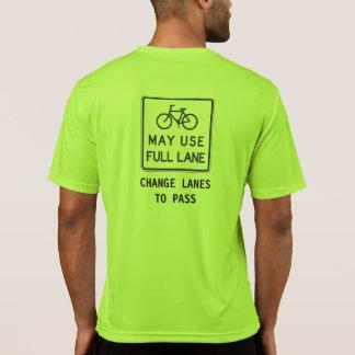 Bicycles May Use Full Lane Shirts