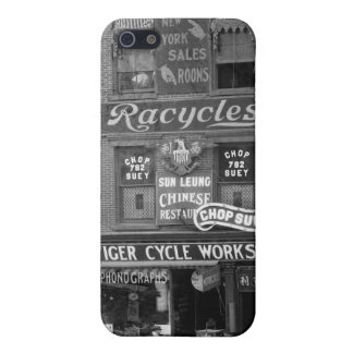 Bicycles, Motorcycles, and Chop Suey, early 1900s iPhone SE/5/5s Cover