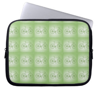 Bicycles pattern computer sleeve