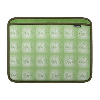 Bicycles pattern sleeve for MacBook air