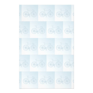 Bicycles pattern stationery