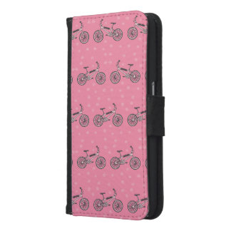 Bicycles pattern wallet phone case for samsung galaxy s6