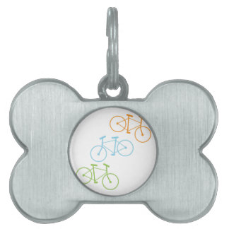 Bicycles Pet ID Tags