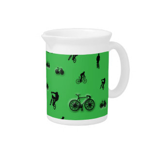 Bicycles Beverage Pitcher