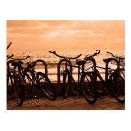 """Bicycles"" Postcard"