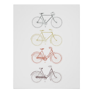 Bicycles Posters