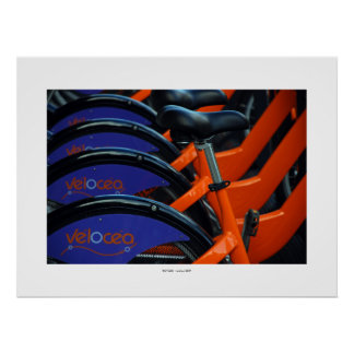 BICYCLES Poster Poster