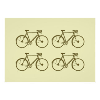 bicycles. print for walls