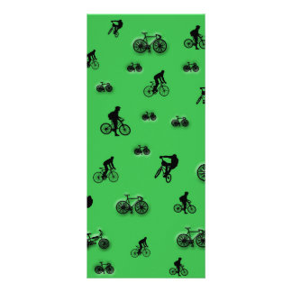 Bicycles Rack Card Template