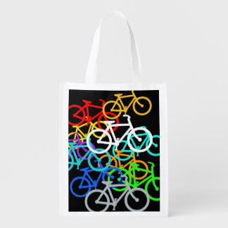 Bicycles Reusable Grocery Bags